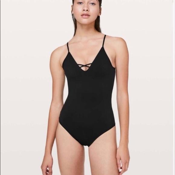 lululemon athletica Other - Lululemon Shoreline One Piece Swimsuit Black